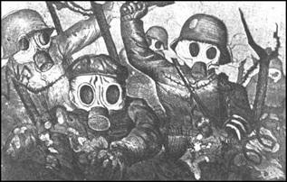Otto Dix - Ataque de Gás